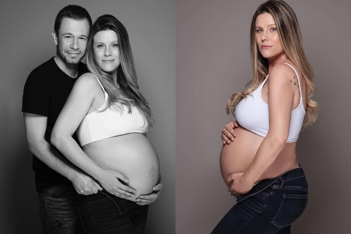 """Tiago Leifert vibra com a chegada da 1ª filha: """"Lua nasceu"""" - Imagem 1"""