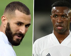 Real Madrid: Benzema dispara críticas pesadas contra Vinicius Junior