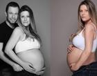 """Tiago Leifert vibra com a chegada da 1ª filha: """"Lua nasceu"""""""