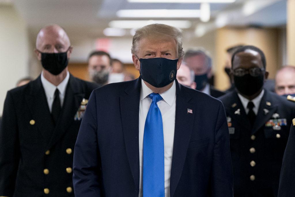 Presidente Donald Trump está com covid-19
