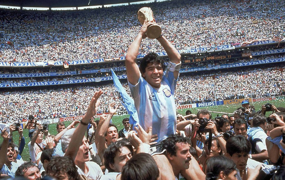 Maradona, Copa de 86 (Foto: divulgação)
