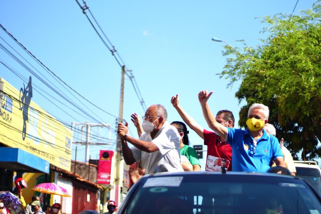 Mini carreata no Dirceu (Foto: assessoria)
