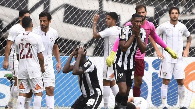 Botafogo x Fluminense / Crédito: André Durão