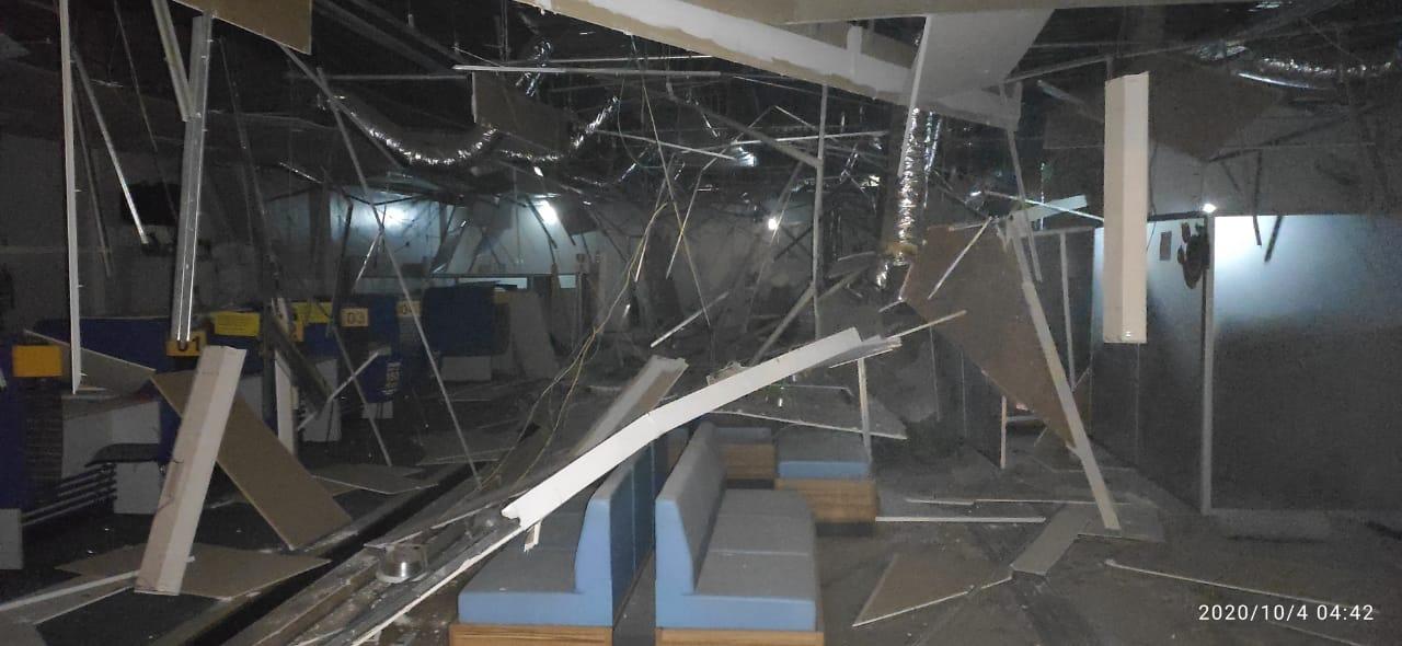 Banco do Brasil é explodido por criminosos em Miguel Alves - Imagem 1