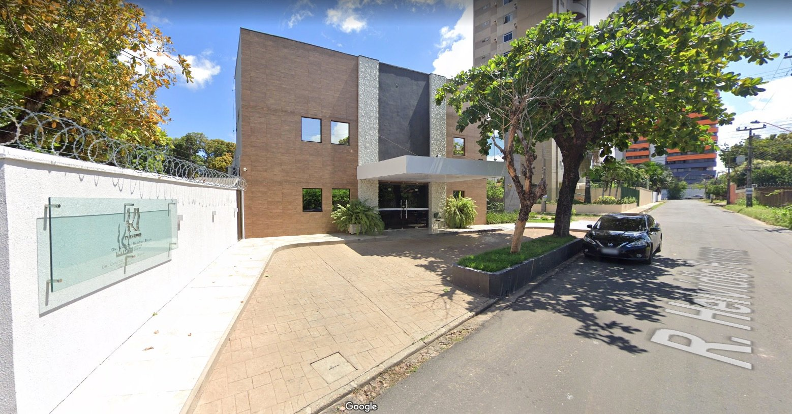 Segurança foi baleado na porta de hospital na zona Leste de Teresina - Foto: Google Maps