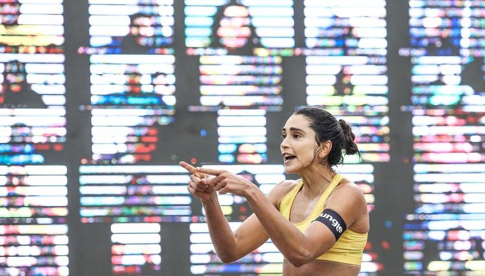 Carol Solberg na disputa de bronze do Circuito Brasileiro