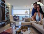 Zezé e Graciele finalizam obra de duplex de luxo em SC; veja fotos