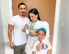 Irmão da cantora Anitta posta foto com filho recém-nascido