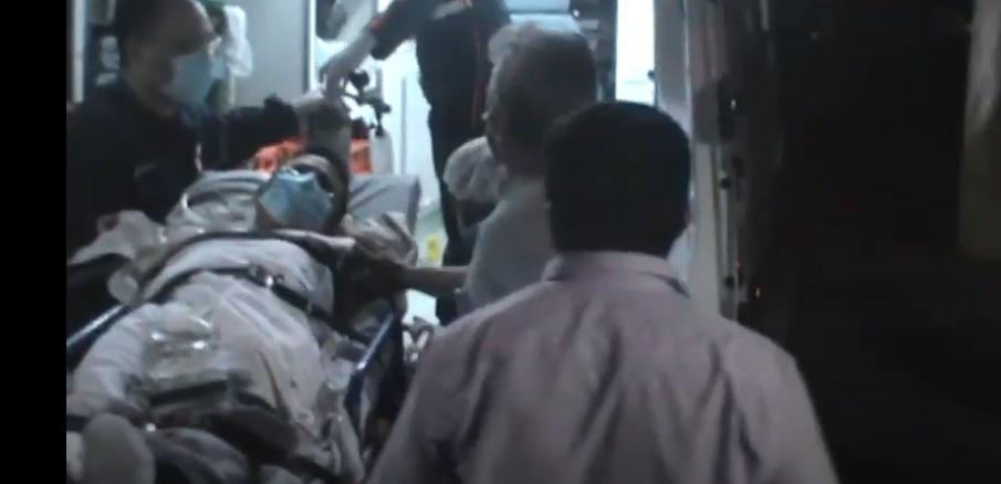 Sargento saiu do Hospital do Buenos Aires para o HUT