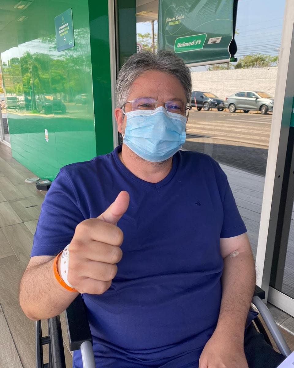 Deputado estadual Gustavo Neiva recebe alta após se curar da Covid-19 - Imagem 1