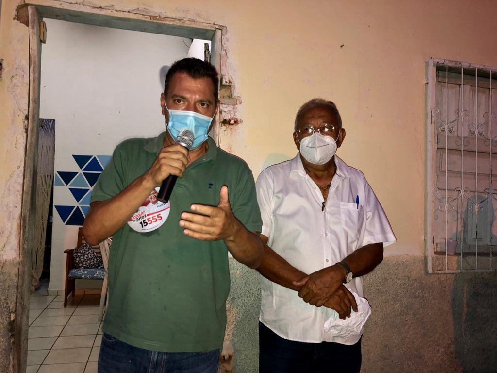 Dr Pessoa faz caminhadas e dialoga com moradores sobre desapropriação - Imagem 1