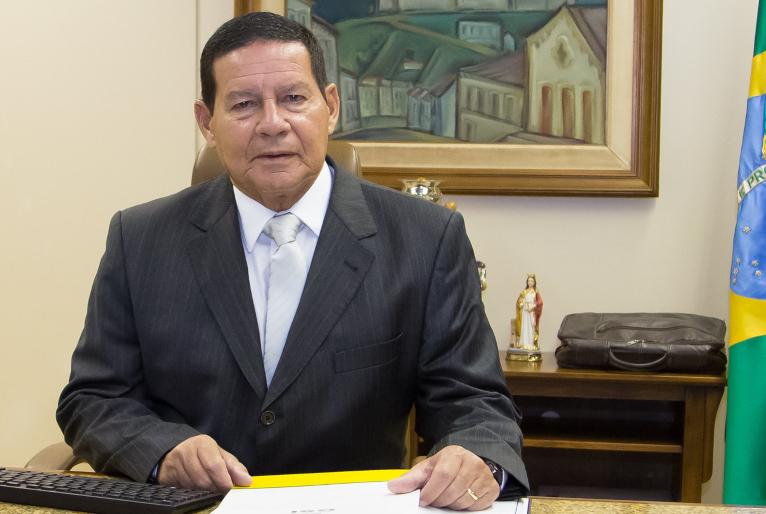 Vice-Presidente, Hamilton Mourão- Foto: Divulgação Planalto