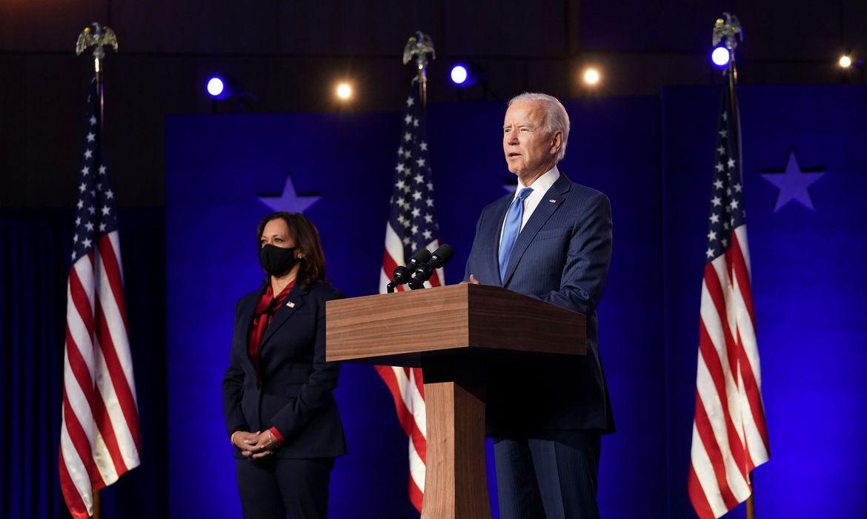 Joe Biden foi eleito presidente dos EUA