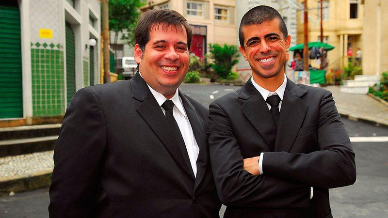 Leandro Hassum e Marcius Melhem - Foto: Alex Carvalho/TV Globo