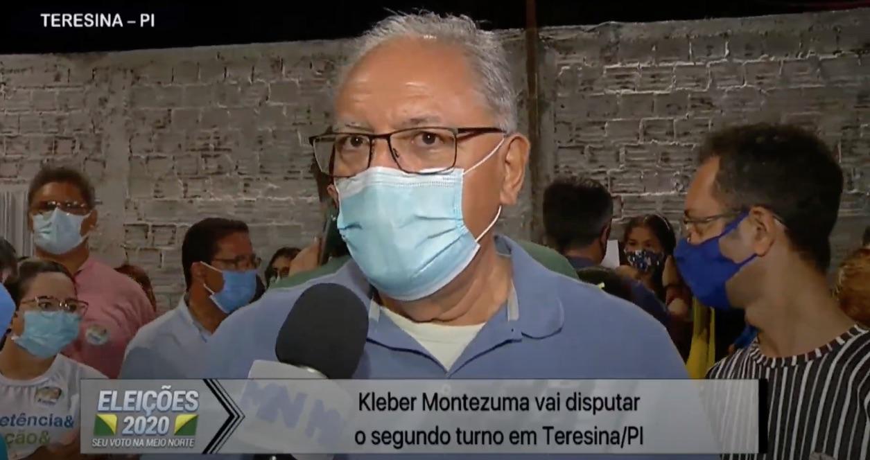 Kleber Montezuma vai disputar o segundo turno em Teresina