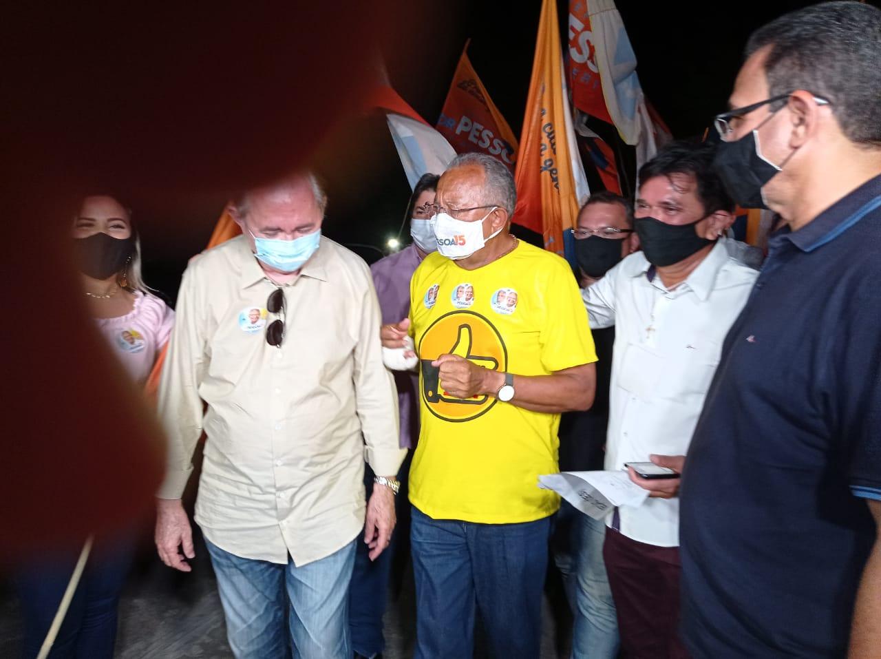 Dr. Pessoa (MDB) enfrenta segundo turno ao lado de Kléber Montezuma (PSDB) - Foto: Efrém Ribeiro