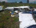 Avião que caiu com filho de ex-senador levava 300 kg de cocaína
