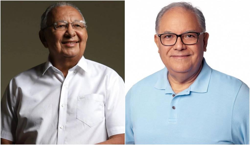 Dr. Pessoa e Kleber Montezuma buscam alianças para o segundo turno (Reprodução/ Redes Sociais)