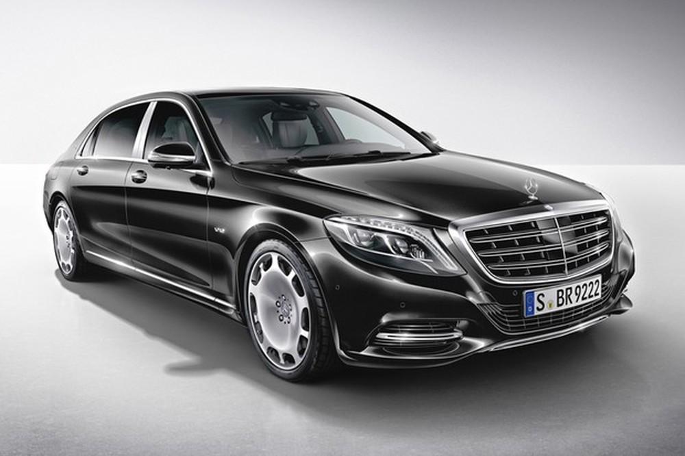 Mercedes Maybach é um dos carros mais tecnológicos que a Mercedes já produziu