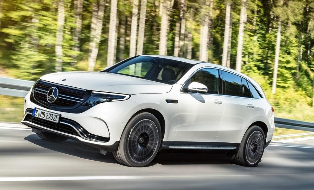 EQC é o primeiro SUV elétrico da Mercedes