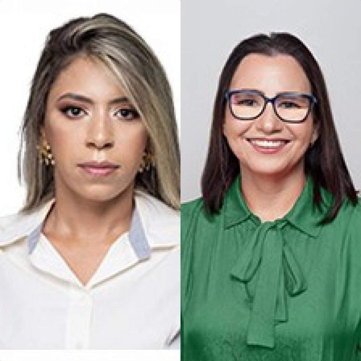 Paula Jeane e Walmarya Moura foram as mais votadas