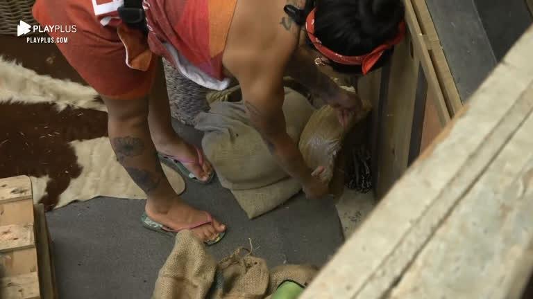 A Fazenda 12: Sapo assusta peões e Mirella tira animal da baia; vídeo - Imagem 2