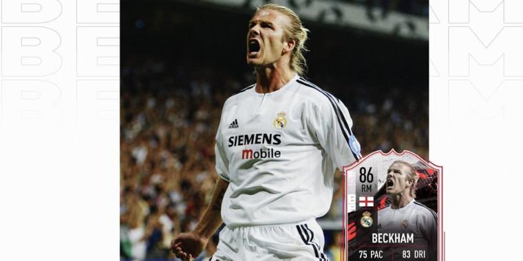 Beckham entra para lista de jogadores lendários do jogo da EA Sports