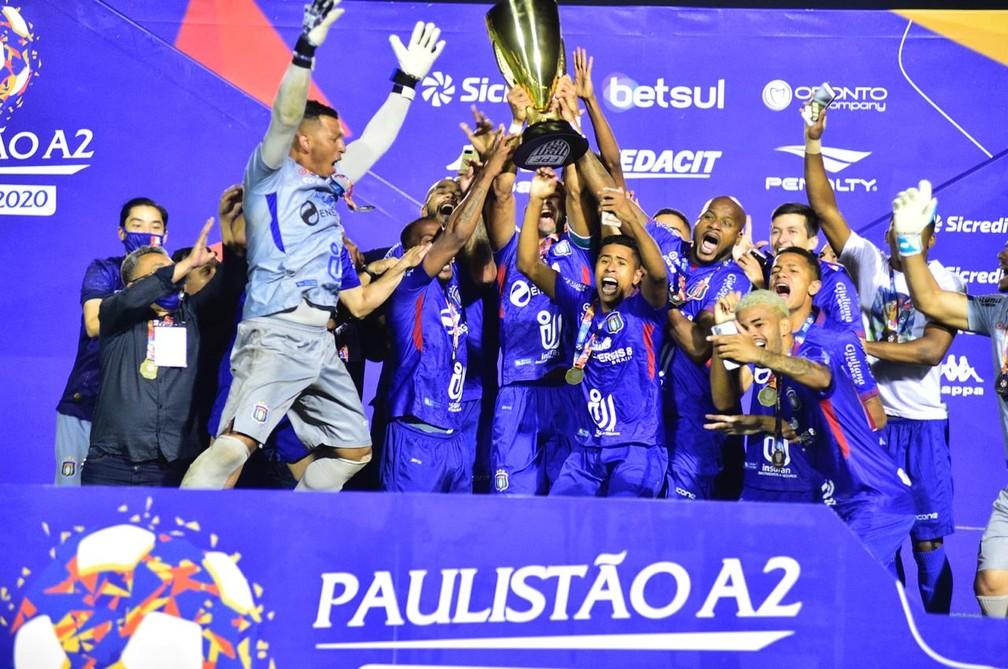 São Caetano é o atual campeão da Série A2 do Campeonato Paulista