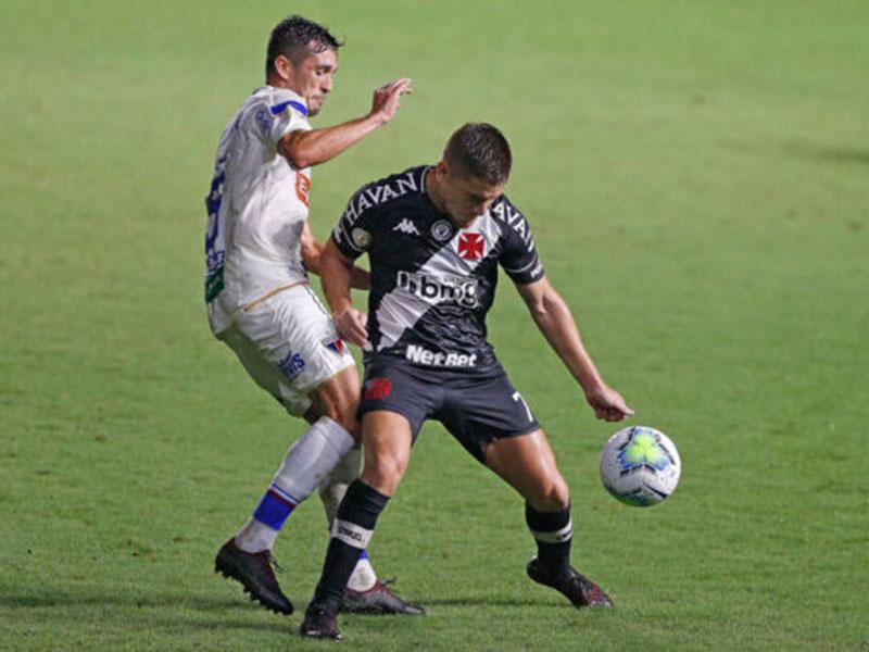 Vasco empatou com o Fortaleza