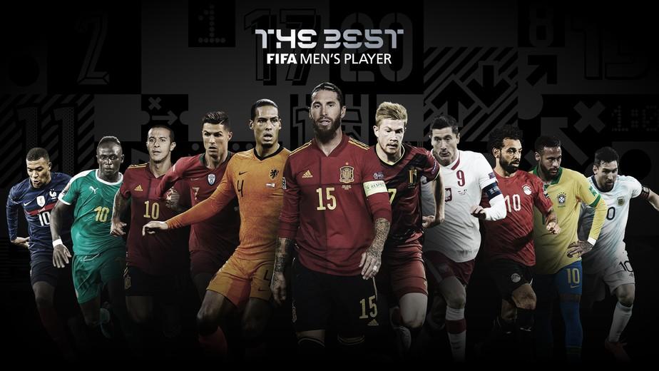 Lista de candidatos ao prêmio de melhor jogador do mundo