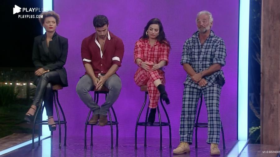 Lidi, Mariano, Raíssa e Mateus estão na roça