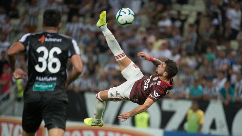 Arrascaeta concorre ao Prêmio Puskas por golaço contra o Ceará (Alexandre Vidal/Flamengo)