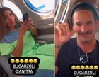 """Anitta viaja de jatinho com João Zoli: """"Vão falar que to pegando"""""""