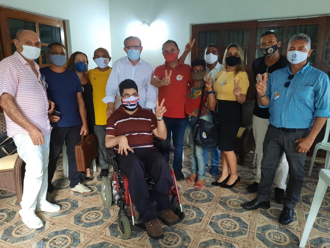Vereadores suplentes do Solidariedade confirmam apoio a Dr. Pessoa.