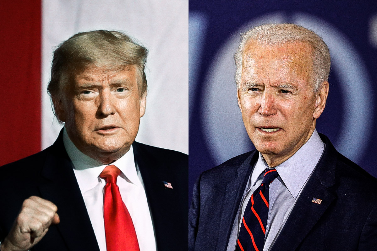 Donald Trump foi derrotado por Joe Biden nos EUA