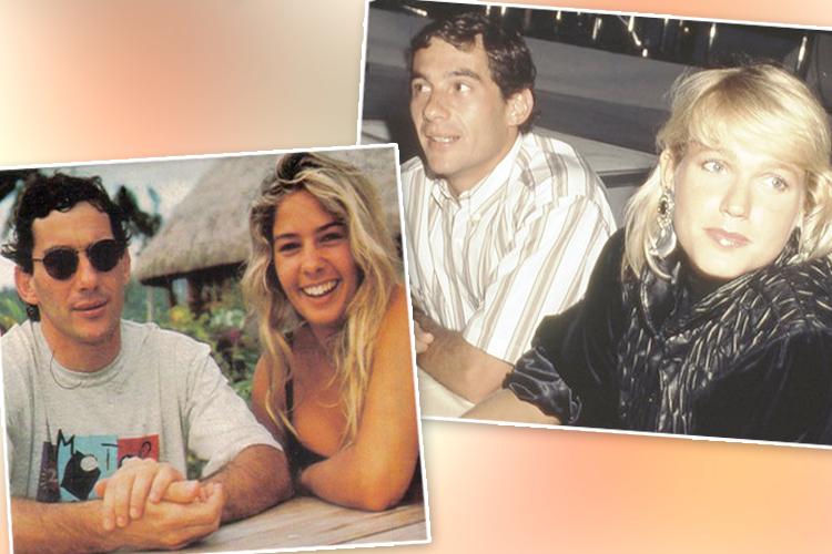 Adriane e Xuxa tiveram relacionamentos com Ayrton Senna