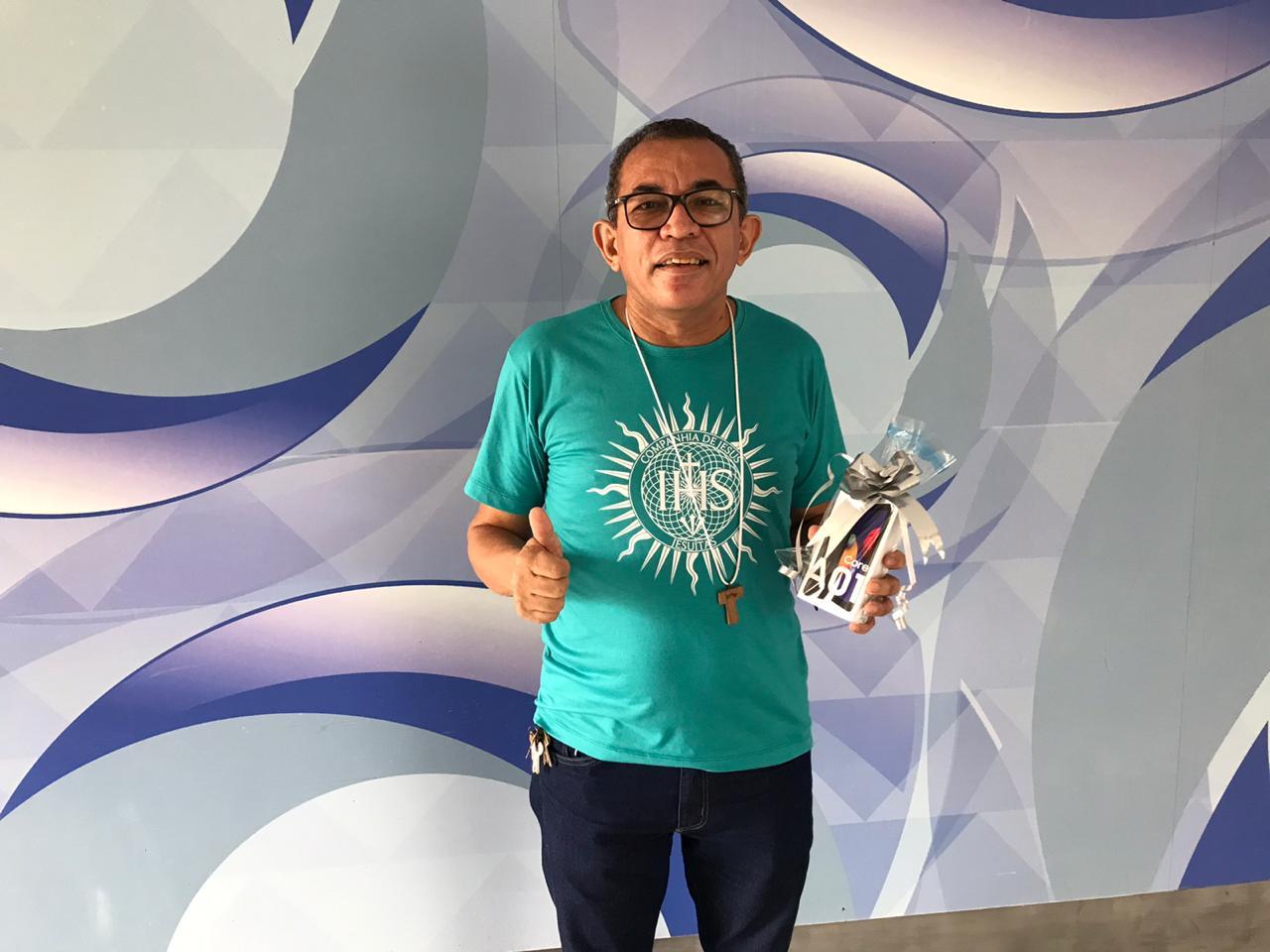 Francisco das Chagas foi o 35º sorteado no Assine Ganhe