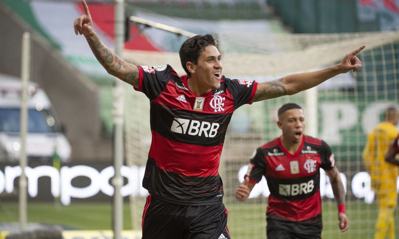 Atacante Pedro (Foto: Alexandre Vidal/Flamengo)
