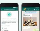 WhatsApp lança mensagens temporárias que desaparecem após sete dias