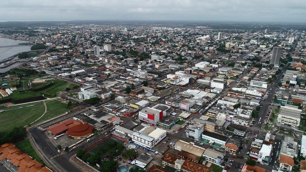Vista área de Macapa- Foto: Rde Amazônica