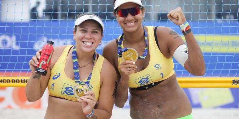 Ana Patrícia e Rebecca vencem 3ª etapa do Circuito de Vôlei de Praia
