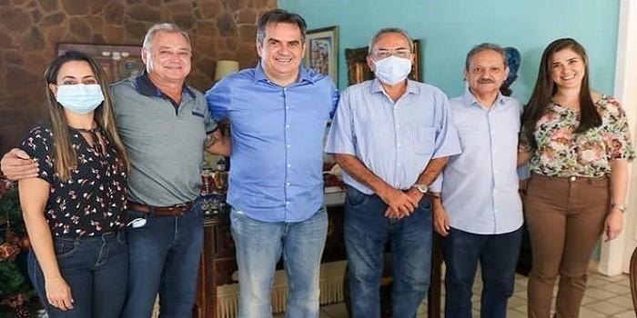 Milton Brandão: Evangelista Resende tem audiência com o Senador Ciro Nogueira e faz reivindicações