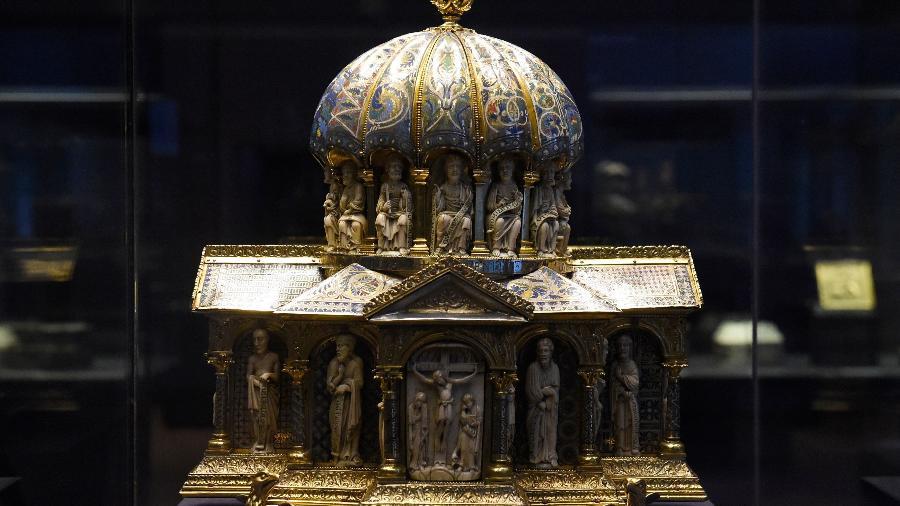 A disputa envolve uma coleção de artefatos eclesiásticos medievais conhecida como Tesouro dos Guelfos - Foto: Tobias Shwarz AFP