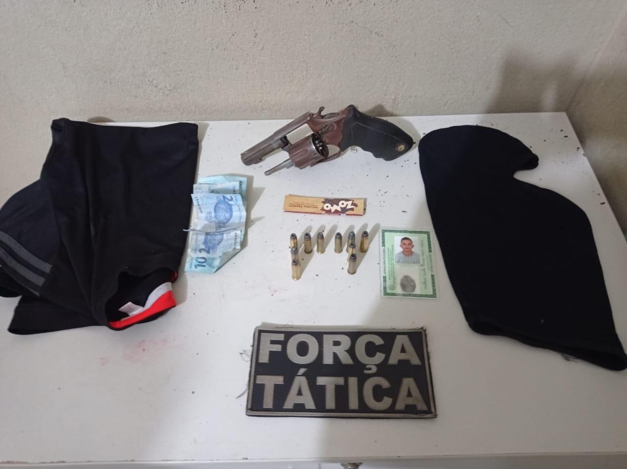 Acusado de matar jovem em Picos é preso (Divulgação)