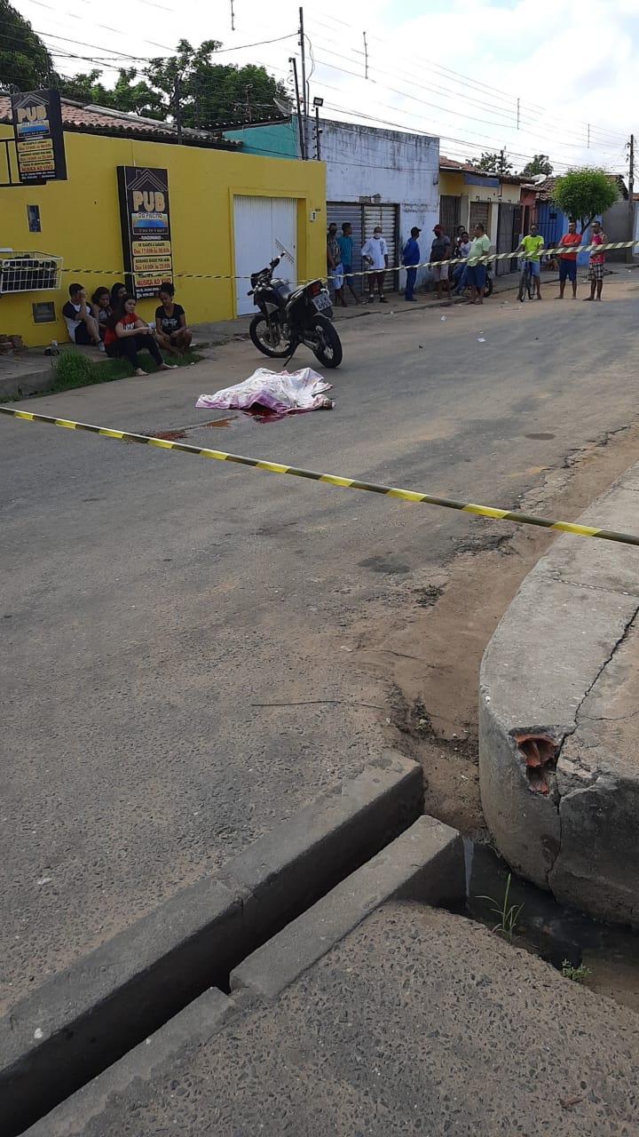 Homem é executado a tiros após briga em bar na zona Norte de Teresina - Imagem 1