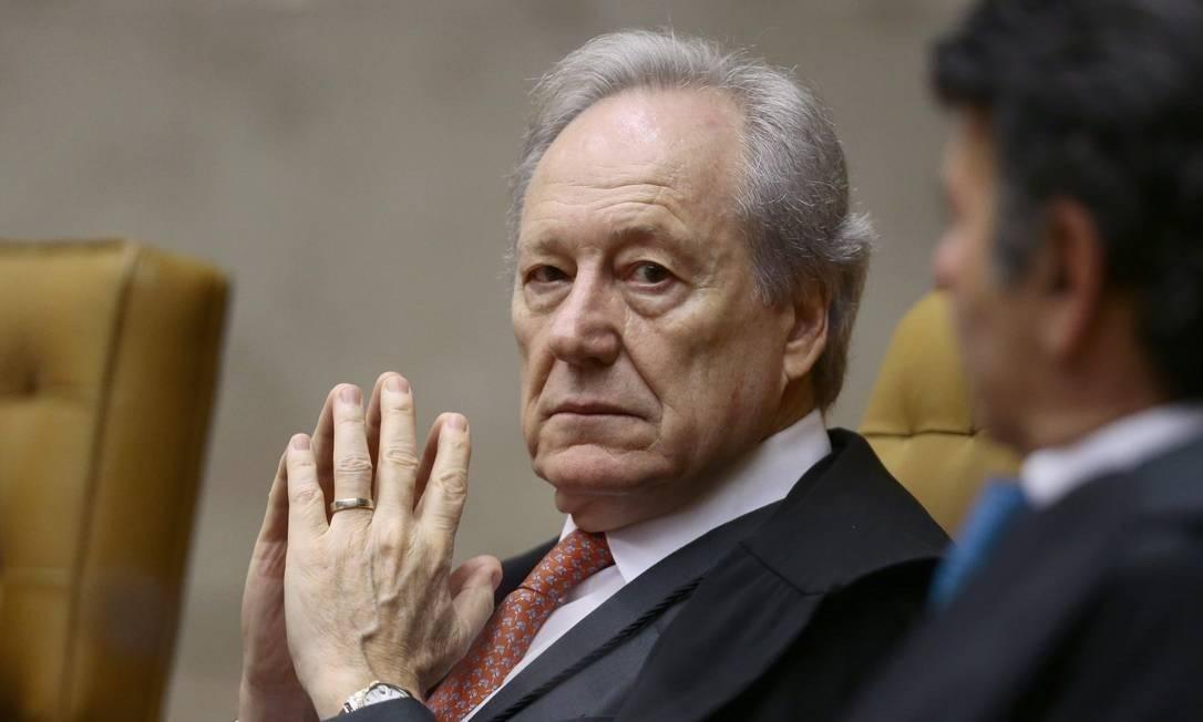 O ministro Ricardo Lewandowski, do STF Foto: Jorge William/Agência O Globo