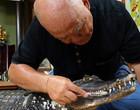 Família cria um crocodilo de mais de dois metros como animal doméstico