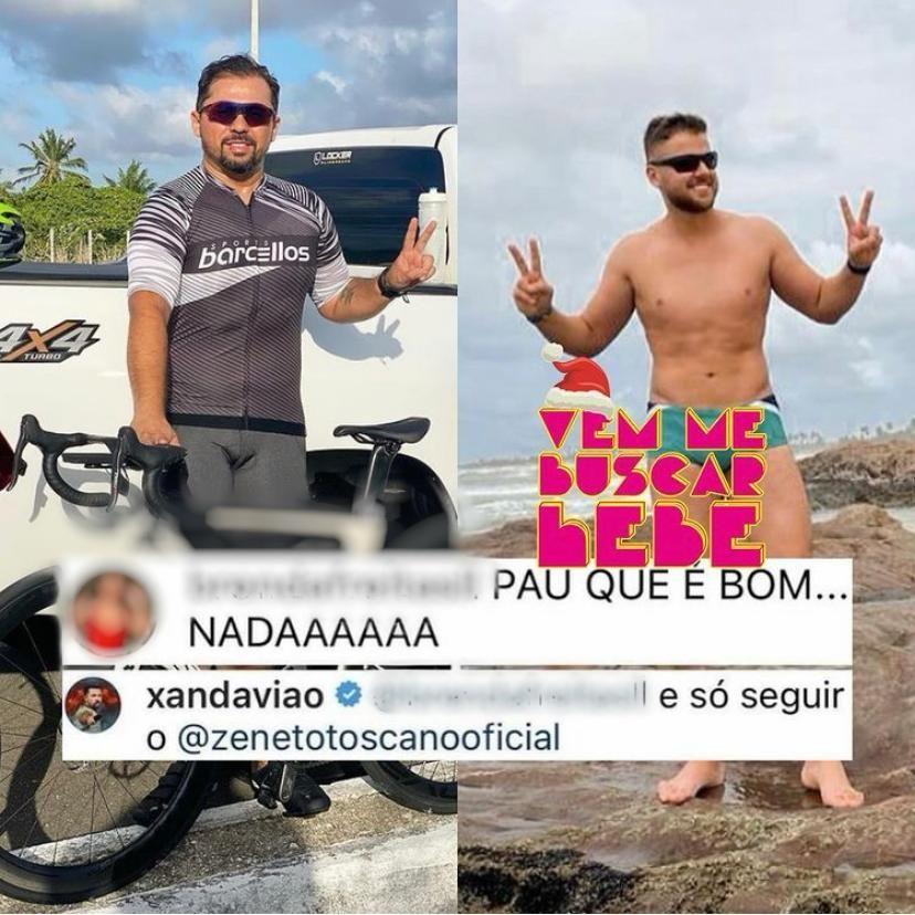 """Xand Avião rebate """"falta de volume"""" em foto: """"Só seguir o Zé Neto"""" 2"""