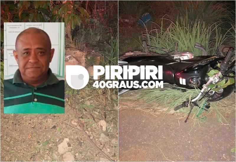 Motociclista morre após perder o controle do veículo em Piripiri- Foto: Piripirir 40 graus