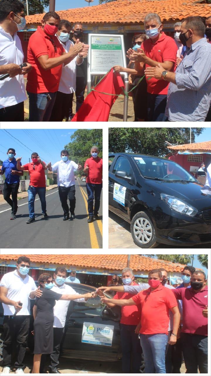 Deputado Paulo Martins participa de festividades alusivas ao aniversário de 25 anos de emancipação política de Jatobá do Piauí e reafirma o seu compromisso com o município e com as lideranças locais  - Imagem 2